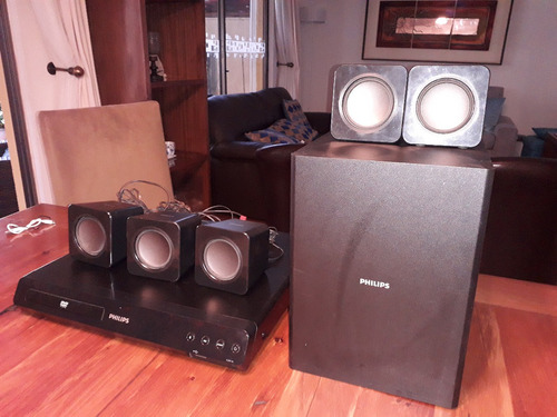 home teather dvd phillips 3510/55