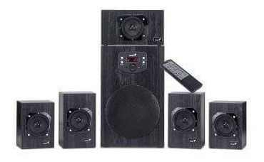 home teather genius 5.1 4500w con control 80usa