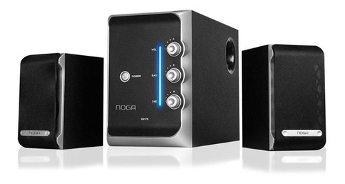 home theater 2.1 noga net s2176 50 watts pc tv dvd celulares