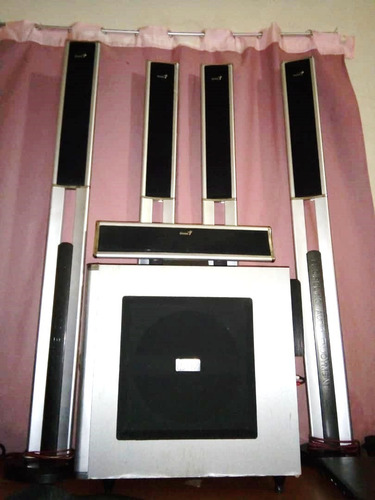 home theater 5.1 genius ght s200 150vd
