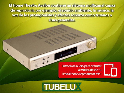 home theater 5.1 parlantes avalon bluetooth usb fm control