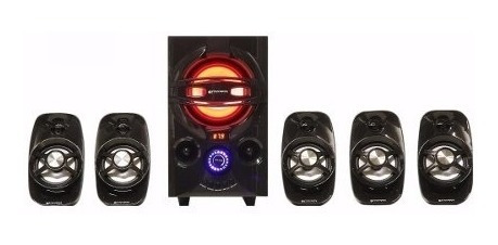 home theater 5.1 stromberg carlson htg-902 45 watts rms.