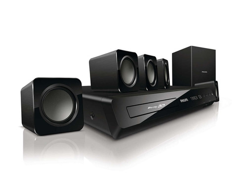 home theater 5.1. y blu ray philips hts3541/f7