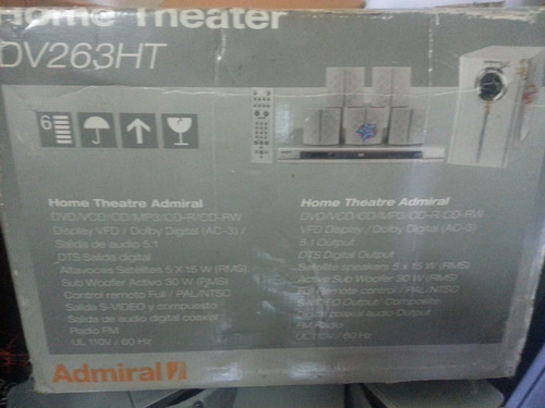 home theater admiral 5.1