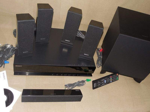 home theater amplificador sony 5.1 bluray 3d corneta bose