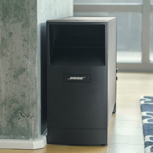 home theater bose 5.1 acoustimass 6 sv parlantes inal. amv