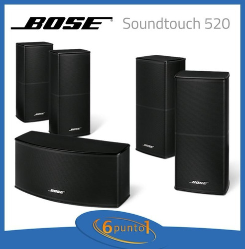 home theater bose® soundtouch® 520 - 5.1 - negro - recoleta