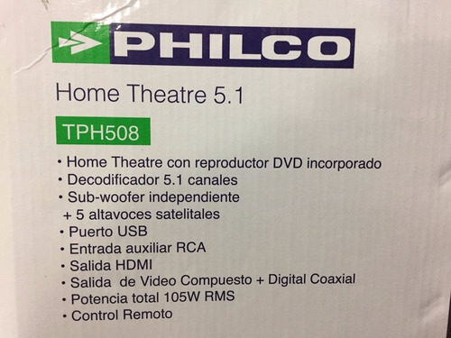 home theater con dvd