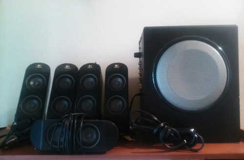 home theater logitech 5.1