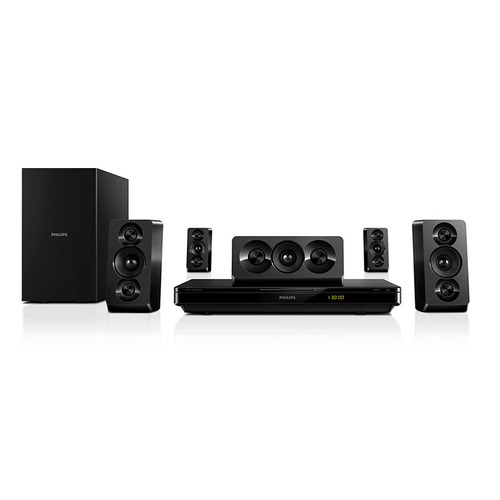 home theater philips blu-ray 3d full htb3510 recertificado