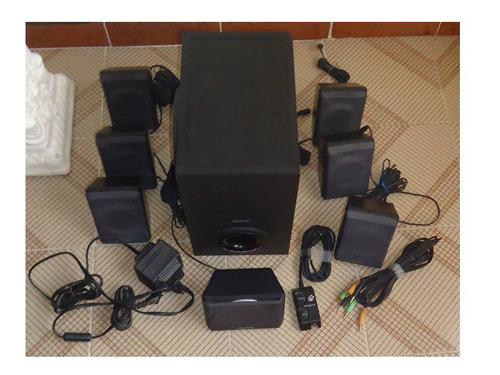 home theater sistema de cornetas 7.1 creative