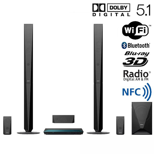 home theater sony 5.1 bluetooth 1000w wifi smart full hd