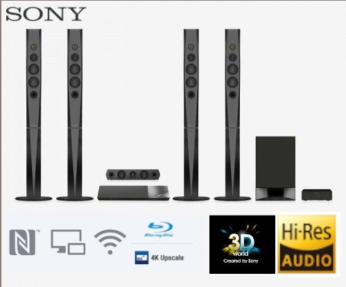 home theater sony bluray, bluetooth 5.1,  hi res audio