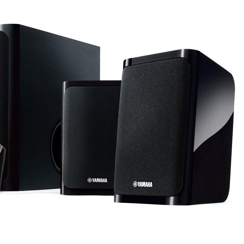 Home theater yamaha ns p40 conjunto caixas ac sticas 5 1 for Yamaha ns 40