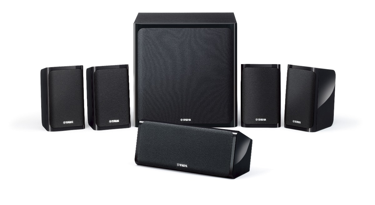 home theater yamaha ns p40 conjunto caixas ac sticas 5 1