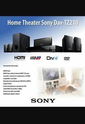 home theatre sony dav-tz210 gran oferta!!!