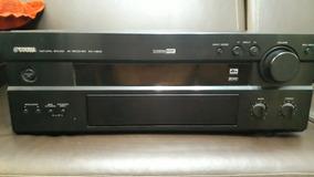 Home Yamaha Rx V800 Com Controle E Manual Com Defeito