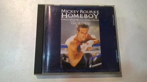 homeboy, banda de sonido - cd 1989 made in uk eric clapton