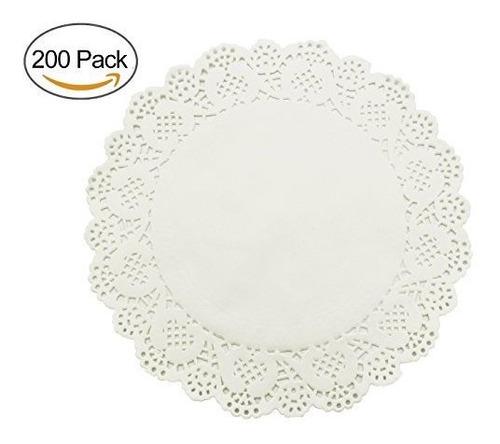 homedecision lace paper doilies 105inch 200pcs