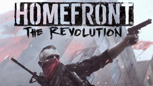homefront the revolution ps4 mídia física lacrado 12x iguais