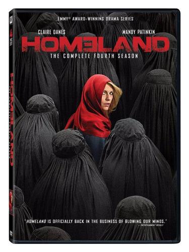 homeland cuarta temporada 4 cuatro serie importada en dvd