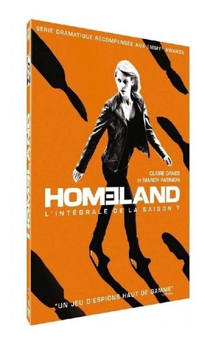 homeland - temporadas 1/2/3/4/5/6/7 - dvd