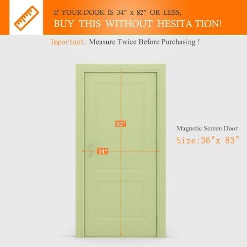 Magnetic Screen Door For French Doors