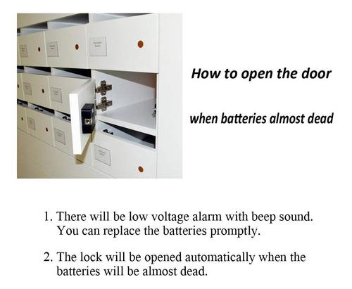 homello rfid cerradura para gabinete oculto electrónico diy