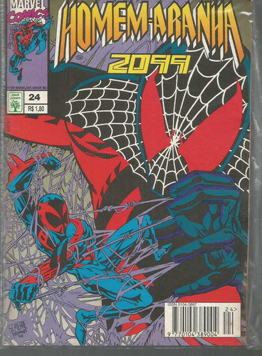 homem-aranha 2099 vol 24 - abril - bonellihq cx21 c19
