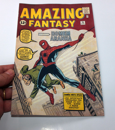 homem-aranha amazing fantasy 15 - hq gibi