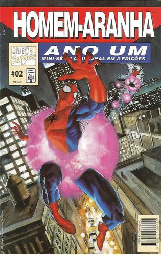 homem-aranha: ano um - série completa - editora abril (novo)