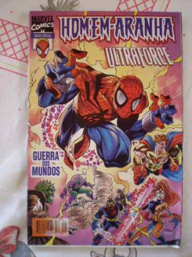 homem-aranha e ultraforce! mythos 1998! r$ 10,00 cada!