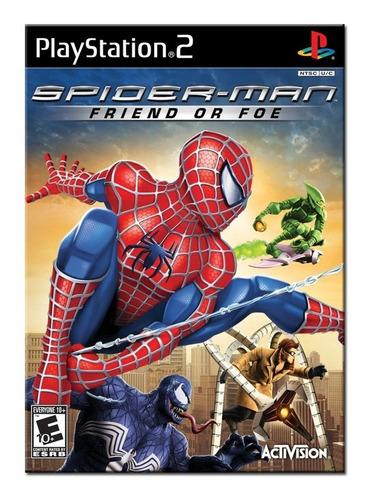 homem aranha friend or foe. ! jogos ps2