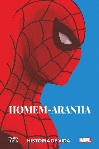 homem-aranha: história de vida - capa dura