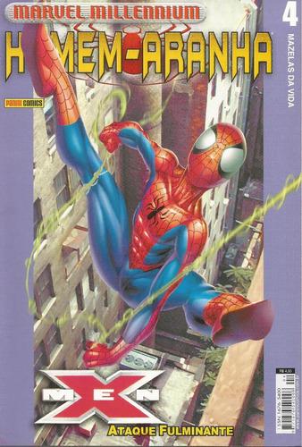 homem-aranha marvel millennium 04 panini bonellihq cx187 c18