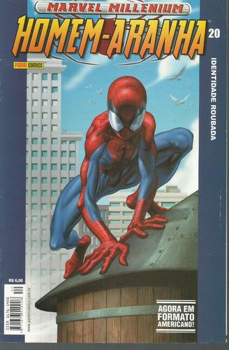 homem-aranha marvel millennium 20 panini bonellihq cx188 c18