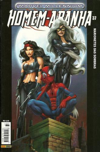 homem-aranha marvel millennium 37 - bonellihq cx89 k17