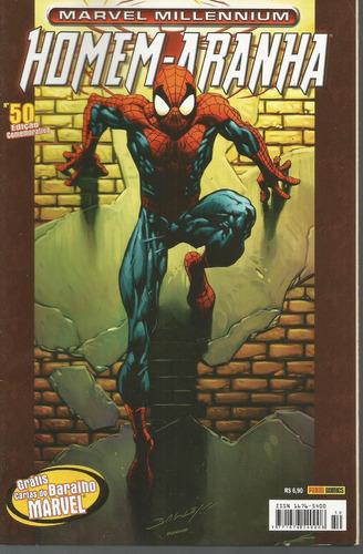 homem-aranha marvel millennium 50 panini bonellihq cx190 c18