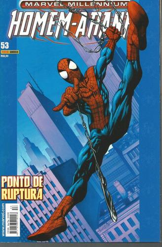 homem-aranha marvel millennium 53 panini bonellihq cx190 c18