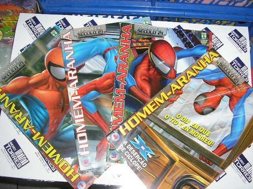 homem-aranha marvel século 21 editora abril 4 edições