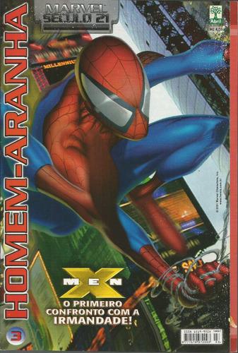homem-aranha marvel seculo 21 vol 03 bonellihq cx187 c18