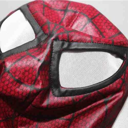 homem aranha mascara touca cosplay spiderman original okstor
