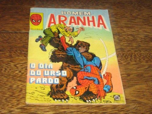 homem aranha nº 27 março/1981 rio gráfica editora l