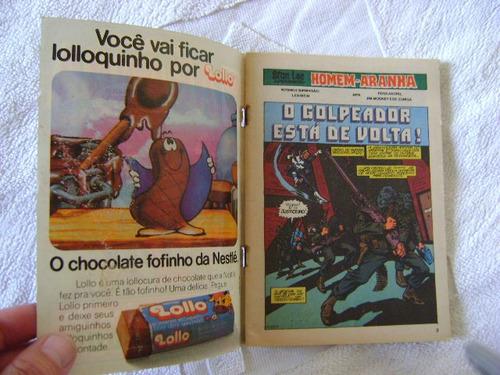homem aranha nº 45 rge setembro 1982  raro ! leia anúncio!