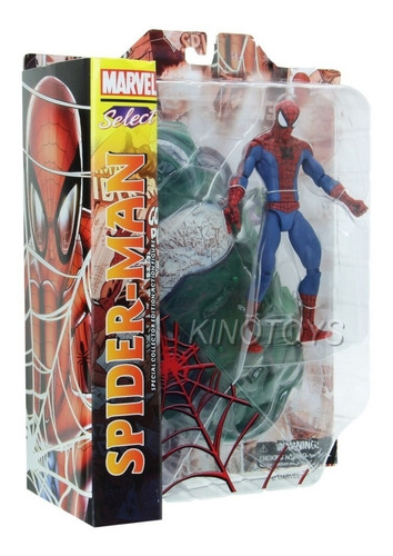homem aranha spider-man marvel select ds-10724