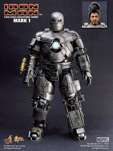 homem de ferro hot toys mark 1 v1 ironman tony stark mark i