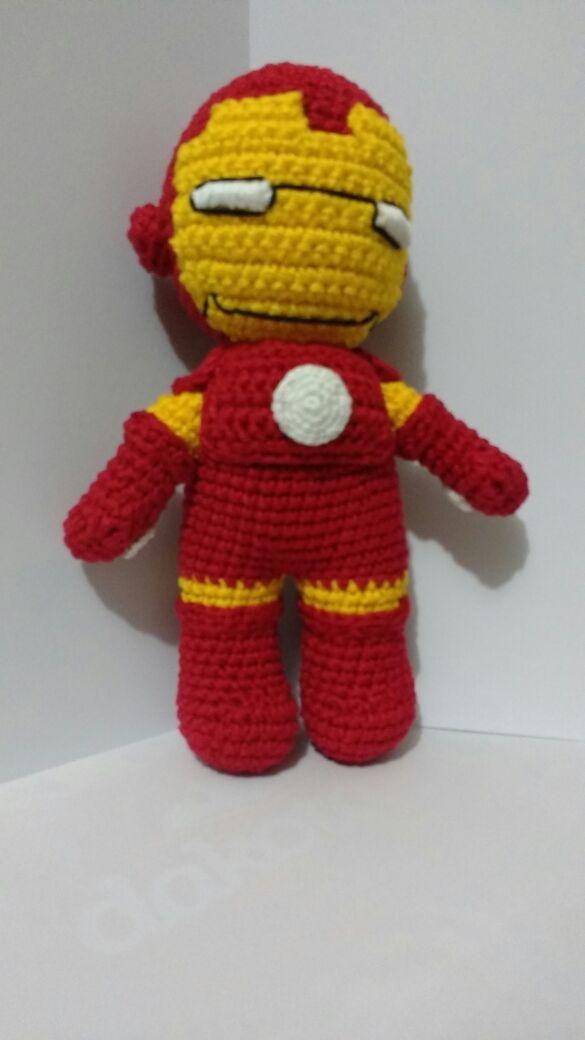 Iron Man – Minasscraft Patrones Amigurumis | 1040x585