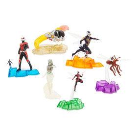 Homem Formiga E A Vespa Playset 6 Figuras - Exclusivo Disney