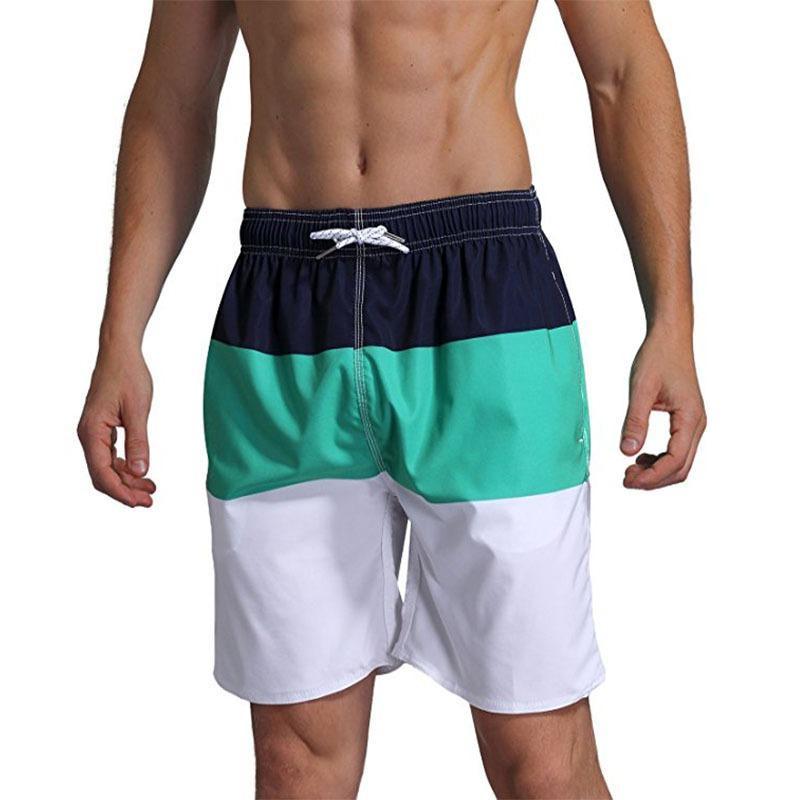 1acde9569 Homens Calção De Praia Troncos Boxer Shorts - R$ 97,51 em Mercado Livre