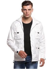 e82d6ac6fe Moletom Ziper Masculino Masculinos - Casacos Branco com o Melhores Preços  no Mercado Livre Brasil